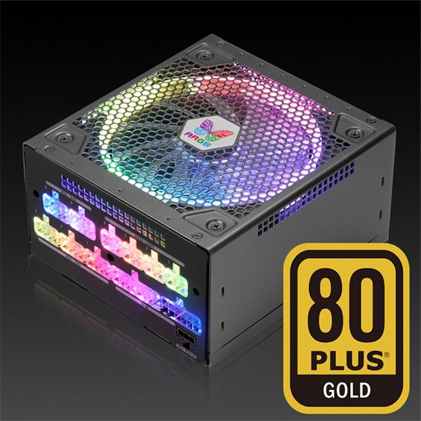 Black-Nguồn Máy Tính Leadex III Gold ARGB 650W