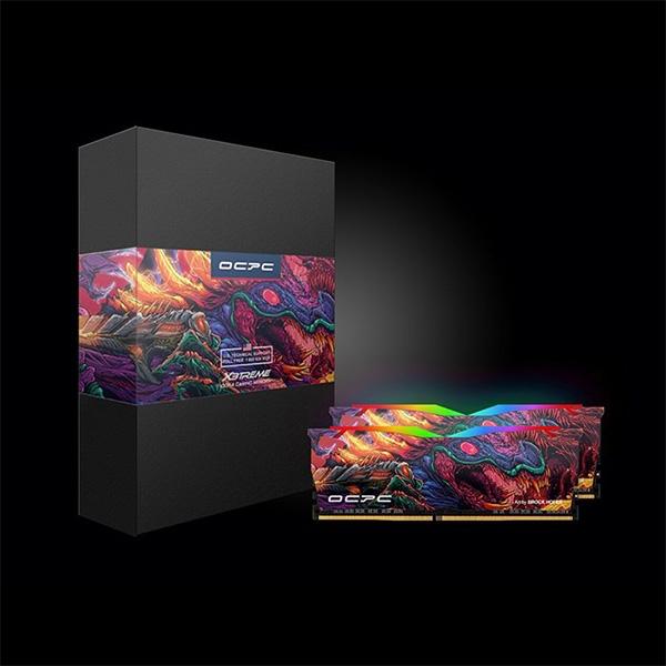 DDR4 X3treme Aura RGB 3600 C18 8G*2 HyperBeast Edition