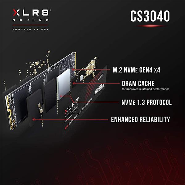 Ổ cứng SSD XLR8 CS3040 1TB M.2 PNY
