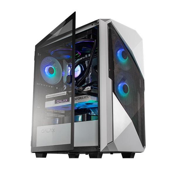 Vỏ Case Máy Tính Gaming White Revolution-01 Galax