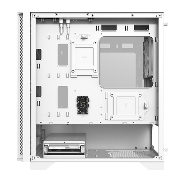 Vỏ Case Máy Tính Montech Air 100 ARGB White