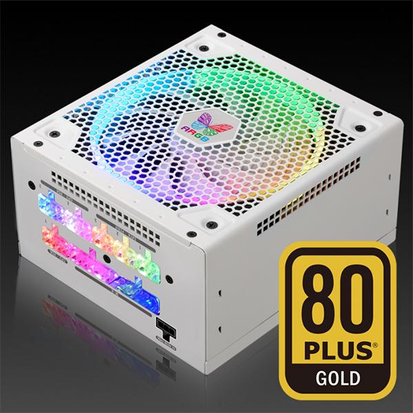 White-Nguồn Máy Tính Leadex III Gold ARGB 650W